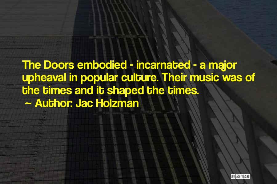 Upheaval Quotes By Jac Holzman