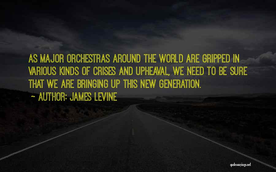 Upheaval Quotes By James Levine