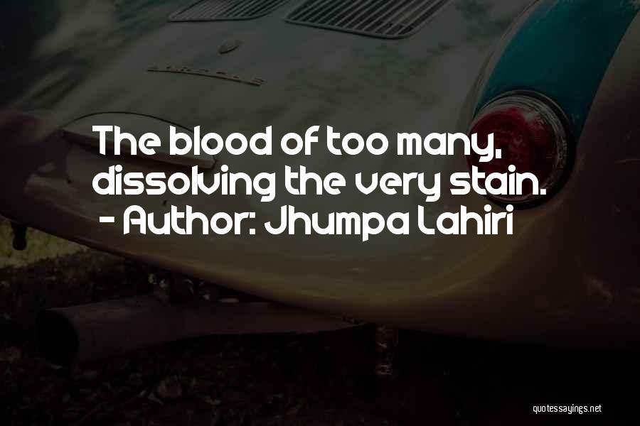 Upheaval Quotes By Jhumpa Lahiri