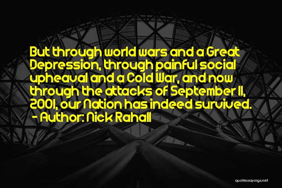 Upheaval Quotes By Nick Rahall