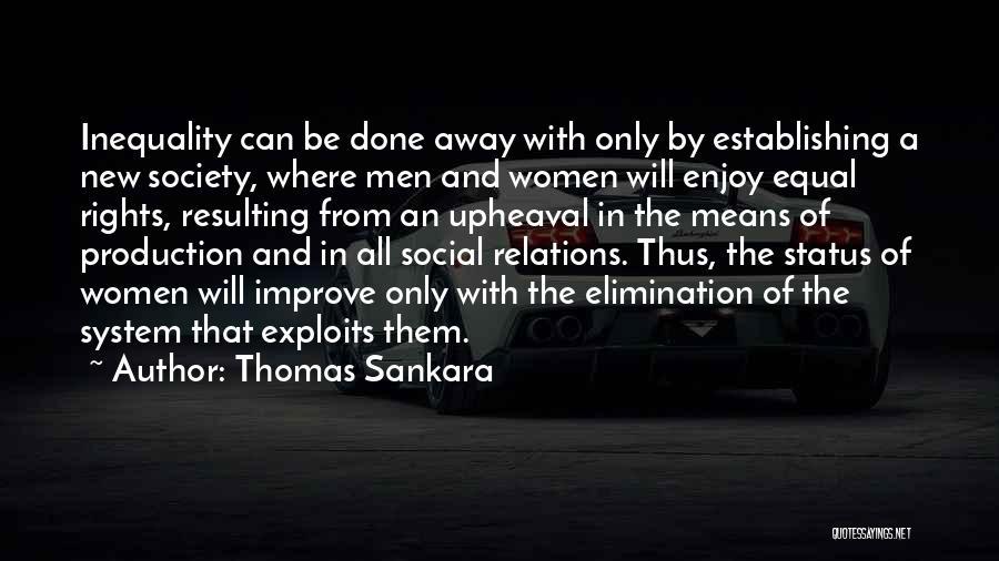 Upheaval Quotes By Thomas Sankara