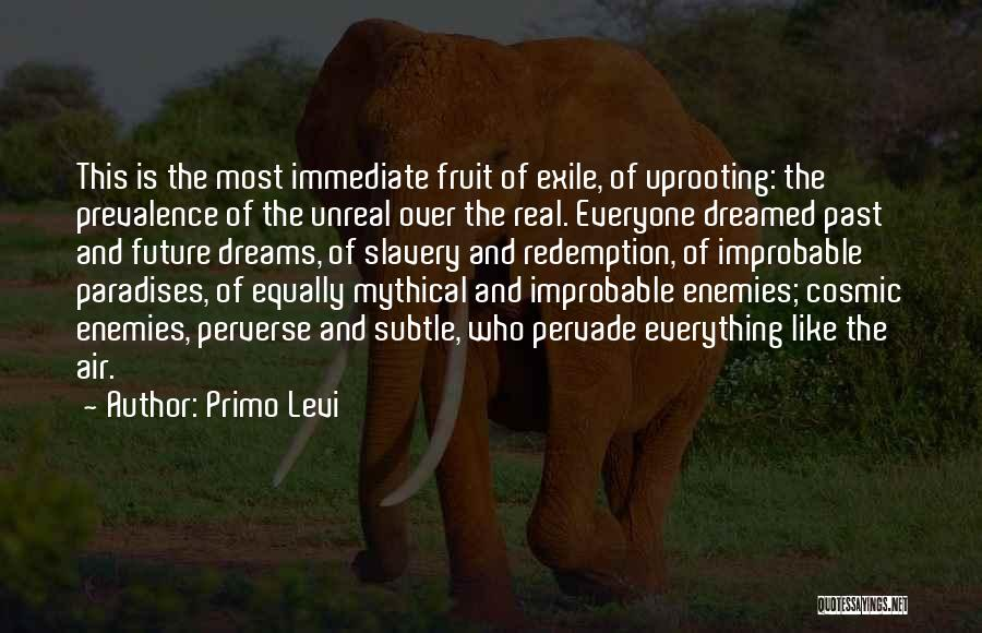 Uprooting Quotes By Primo Levi