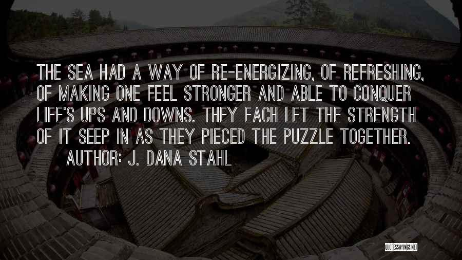 Ups And Downs In Life Quotes By J. Dana Stahl