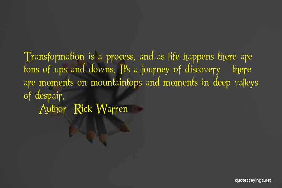 Ups And Downs In Life Quotes By Rick Warren