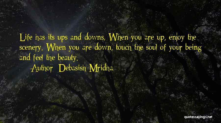 Ups And Downs Of Life Quotes By Debasish Mridha