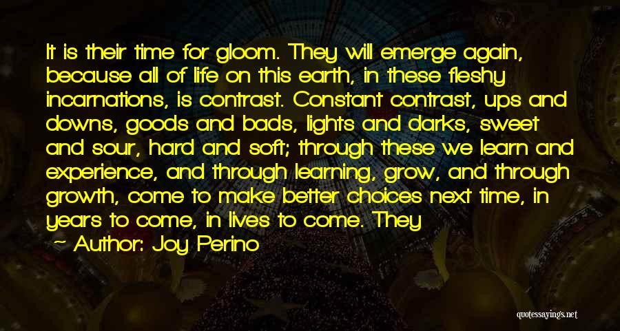 Ups And Downs Of Life Quotes By Joy Perino
