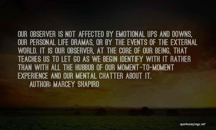 Ups And Downs Of Life Quotes By Marcey Shapiro
