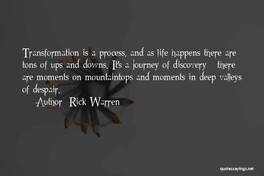 Ups And Downs Of Life Quotes By Rick Warren