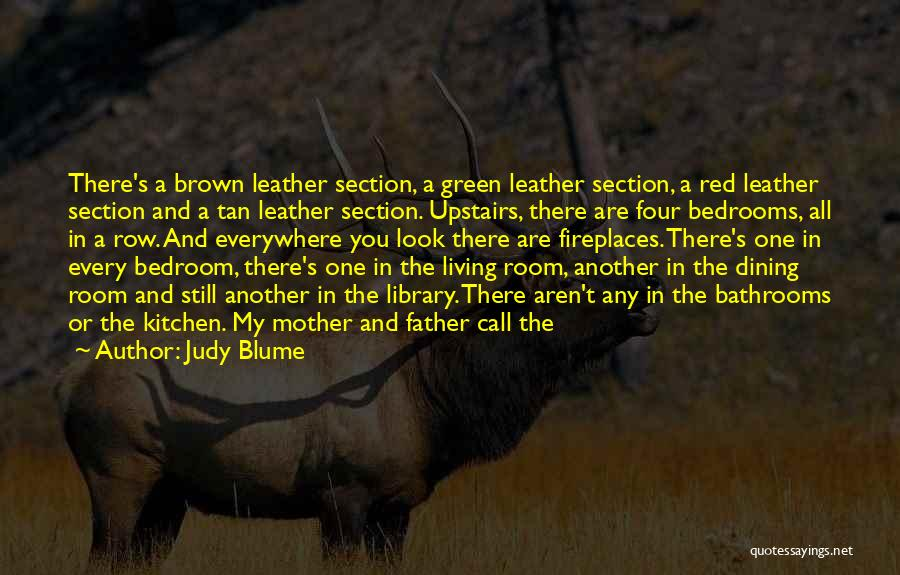 Upstairs Room Quotes By Judy Blume