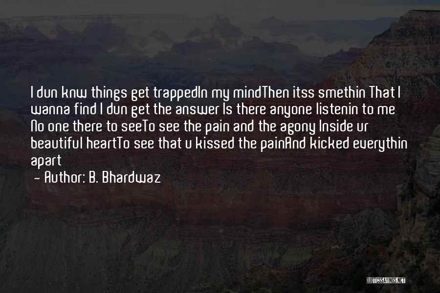 Ur Beautiful Quotes By B. Bhardwaz