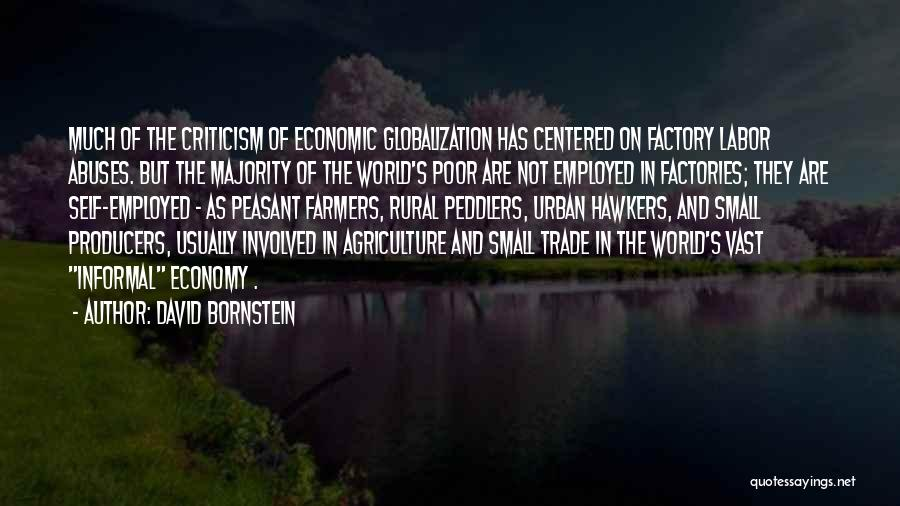 Urban Agriculture Quotes By David Bornstein