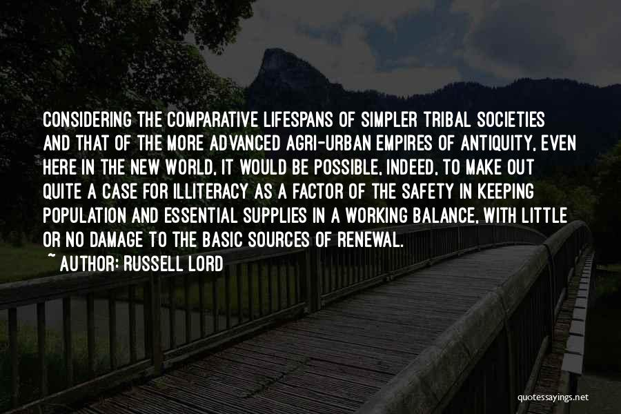Urban Agriculture Quotes By Russell Lord