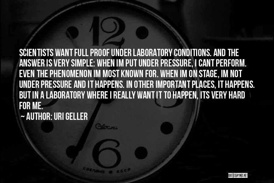 Uri Geller Quotes 1829426