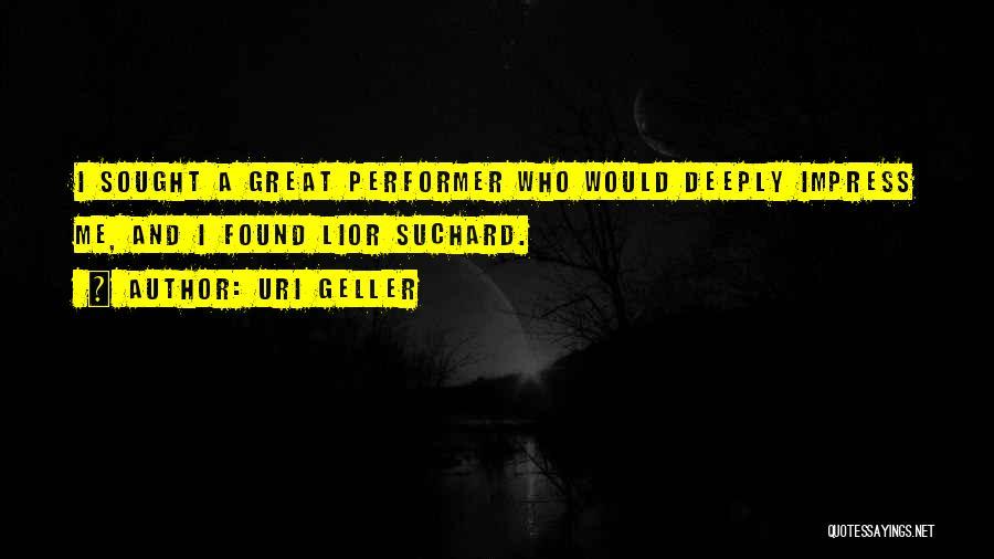 Uri Geller Quotes 719357