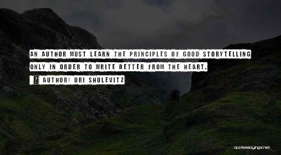 Uri Shulevitz Quotes 1497199