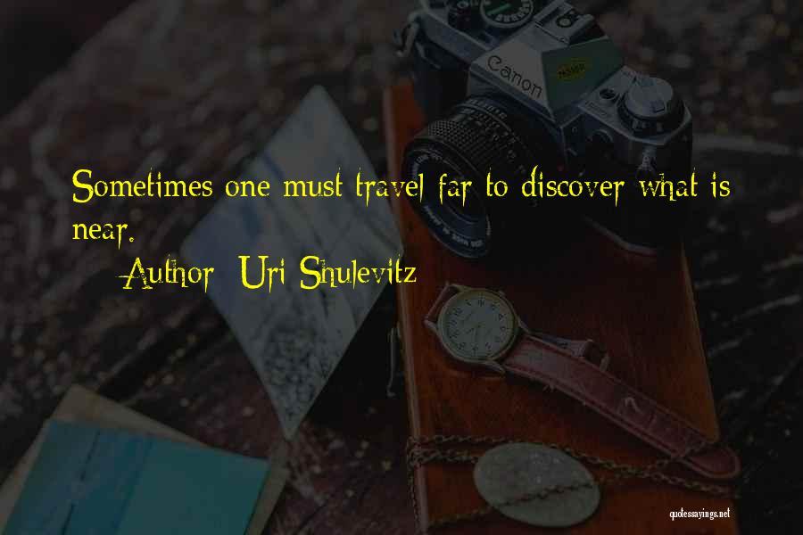 Uri Shulevitz Quotes 615806