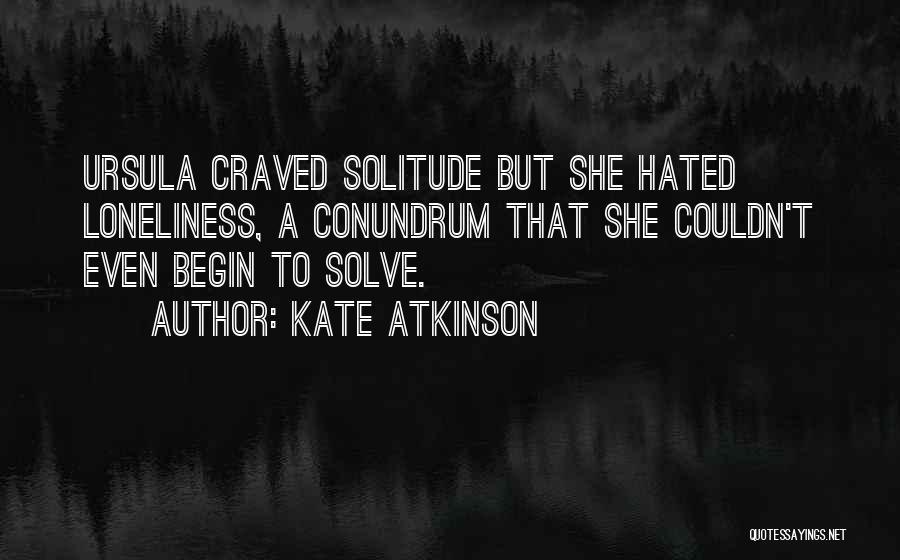 Ursula O'farrell Quotes By Kate Atkinson