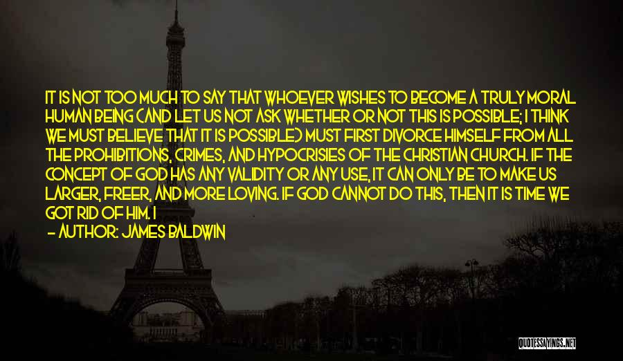 Us All Being Human Quotes By James Baldwin