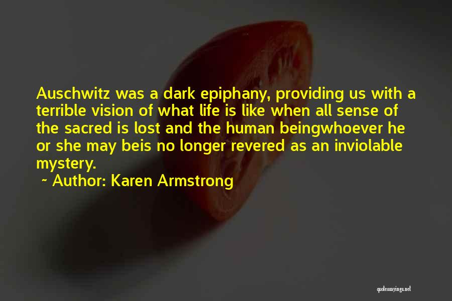 Us All Being Human Quotes By Karen Armstrong
