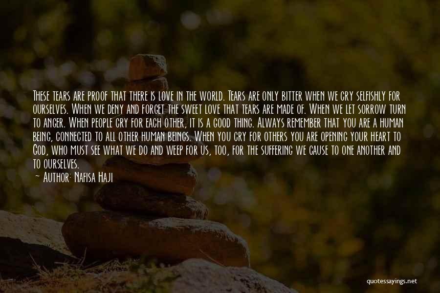 Us All Being Human Quotes By Nafisa Haji