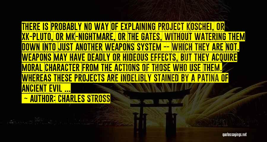 Use Of Weapons Quotes By Charles Stross