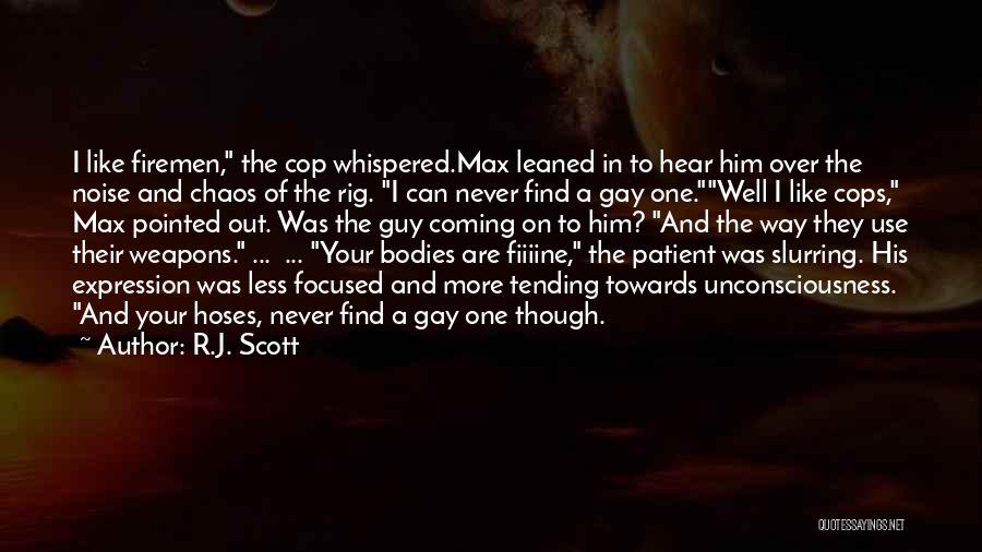 Use Of Weapons Quotes By R.J. Scott