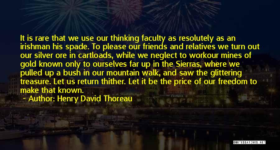 Use To Be Friends Quotes By Henry David Thoreau
