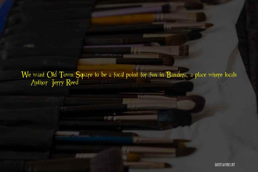 Use To Be Friends Quotes By Jerry Reed