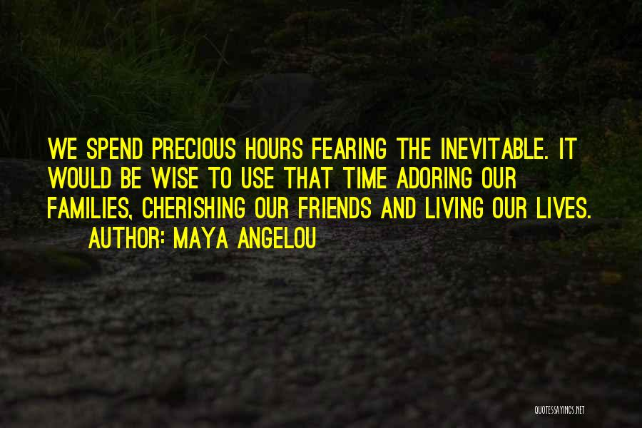 Use To Be Friends Quotes By Maya Angelou