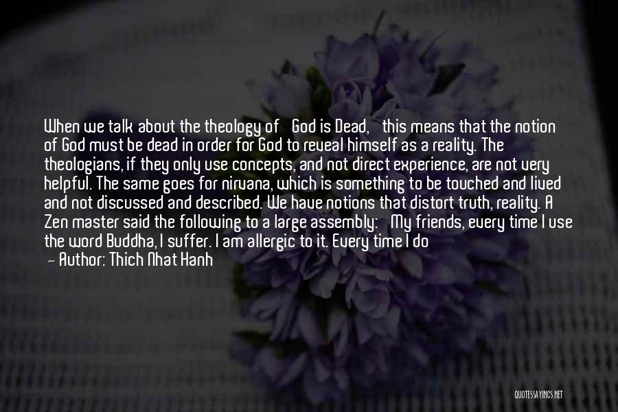 Use To Be Friends Quotes By Thich Nhat Hanh