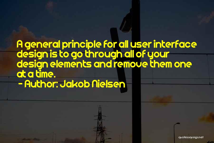 User Interface Quotes By Jakob Nielsen