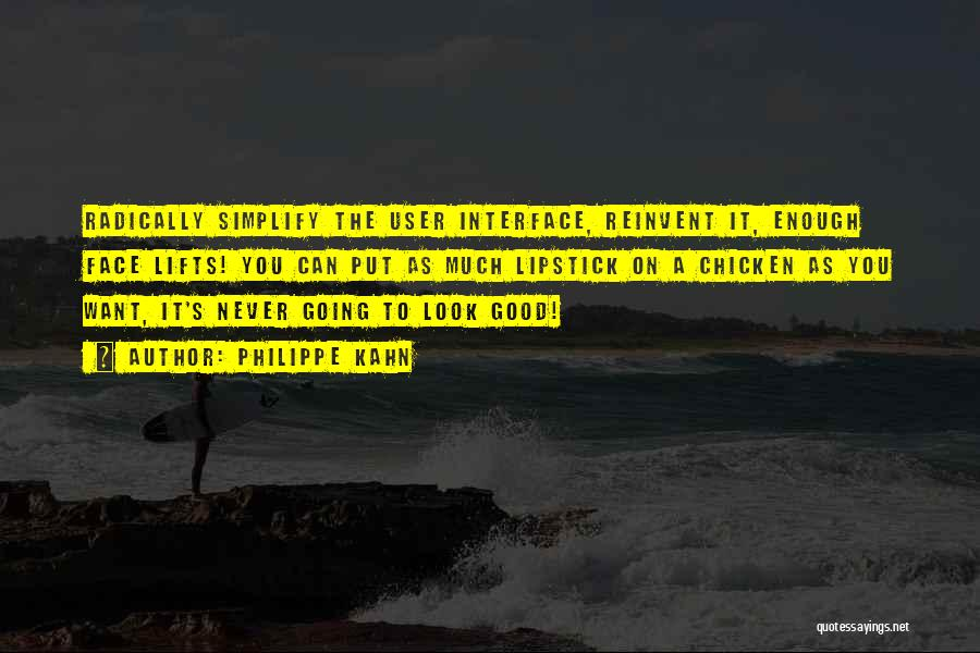 User Interface Quotes By Philippe Kahn