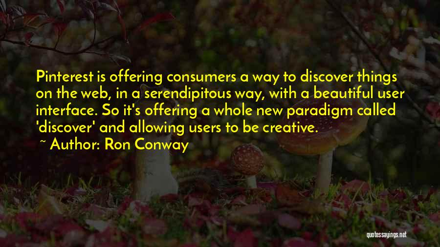 User Interface Quotes By Ron Conway