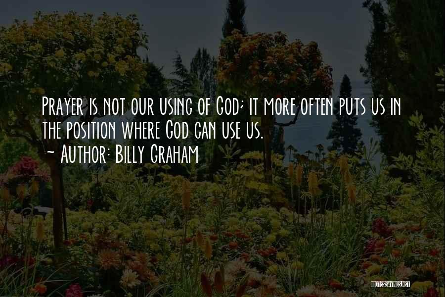 Using Quotes By Billy Graham