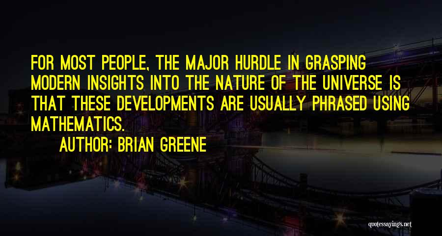 Using Quotes By Brian Greene