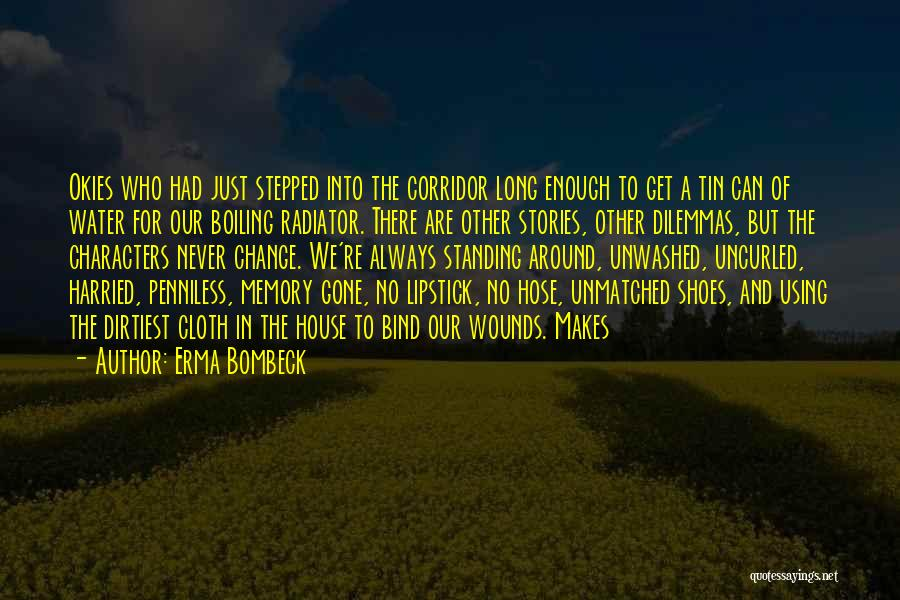 Using Quotes By Erma Bombeck