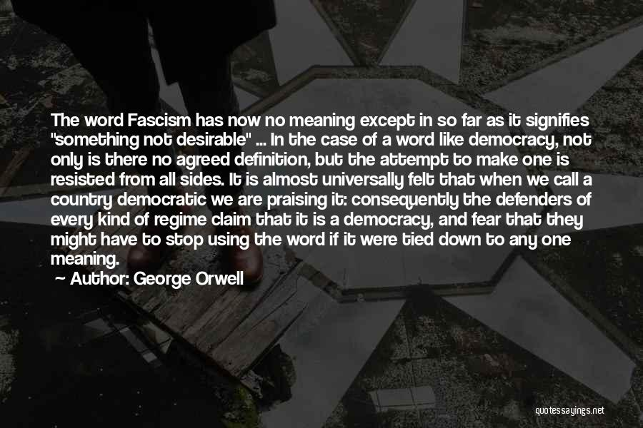 Using Quotes By George Orwell