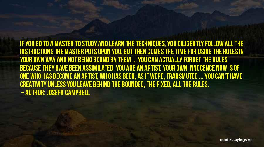 Using Quotes By Joseph Campbell