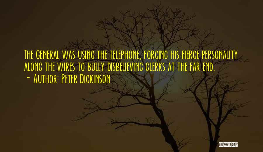 Using Quotes By Peter Dickinson