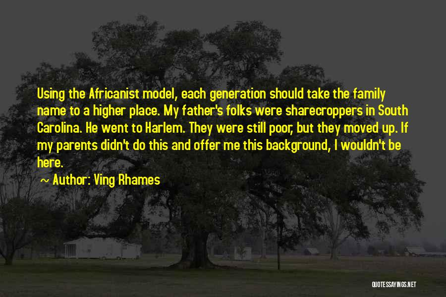 Using Quotes By Ving Rhames