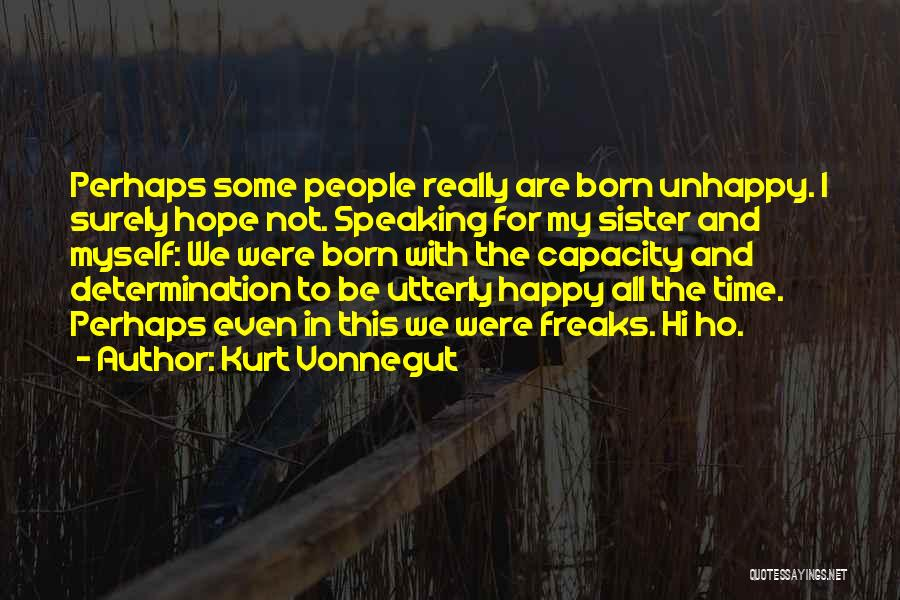 Utterly Happy Quotes By Kurt Vonnegut