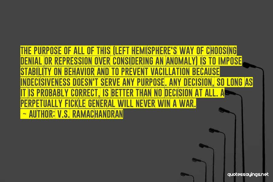 V.S. Ramachandran Quotes 284837