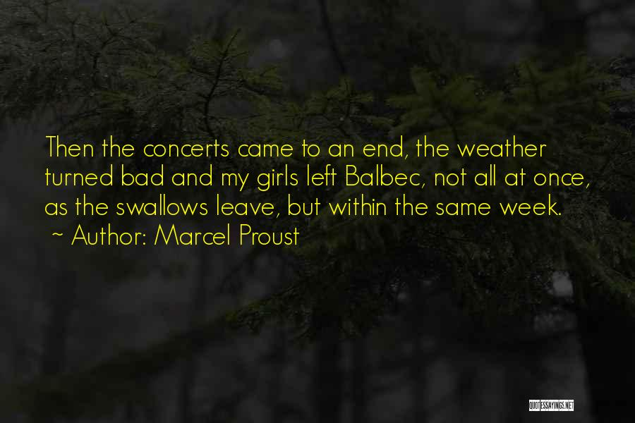 Vacation Leave Quotes By Marcel Proust