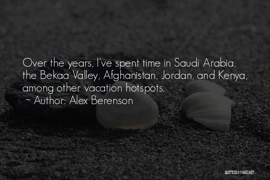Vacation Time Is Over Quotes By Alex Berenson