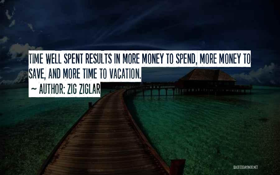 Vacation Time Is Over Quotes By Zig Ziglar