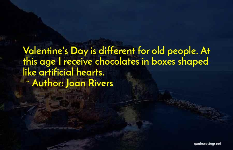 Valentine's Day Got Me Like Quotes By Joan Rivers
