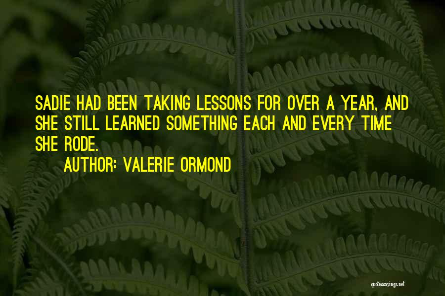 Valerie Ormond Quotes 1573822