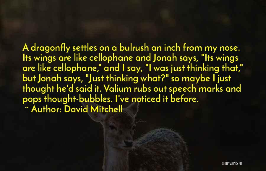 Valium Quotes By David Mitchell