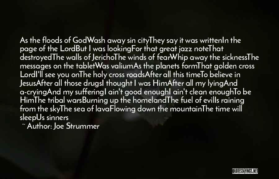 Valium Quotes By Joe Strummer