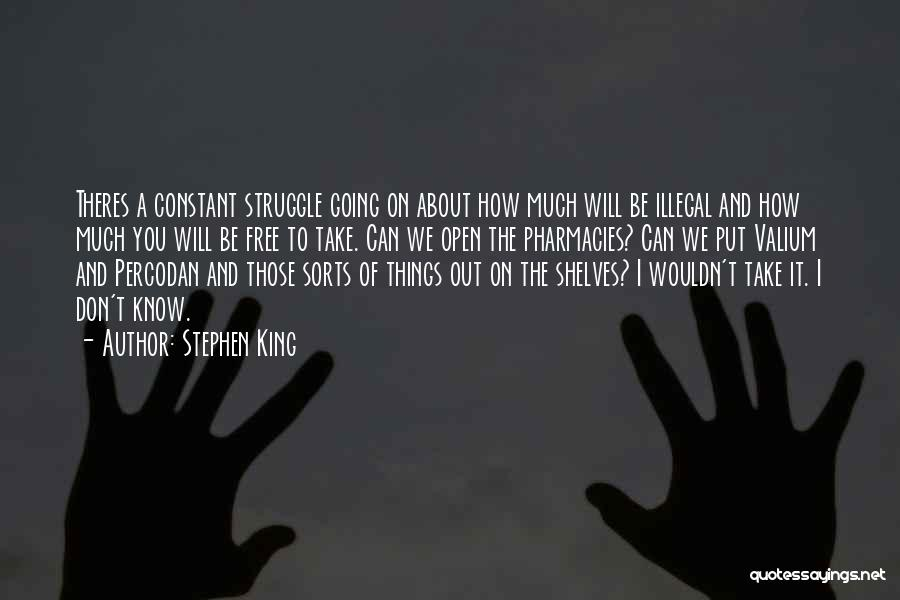 Valium Quotes By Stephen King